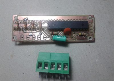 circuito y conectores.