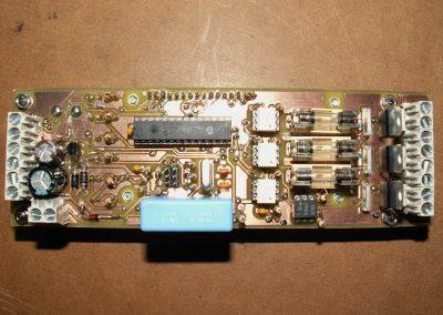 Insoladora circuito vista superior con fusibles