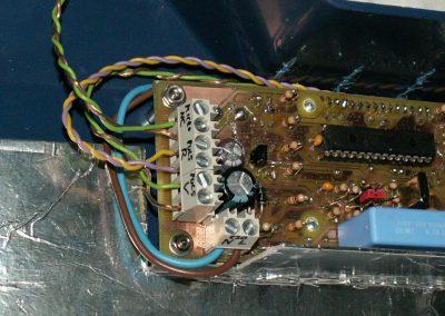 Insoladora conector micro y pulsadores