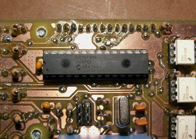 Insoladora detalle PIC16F886