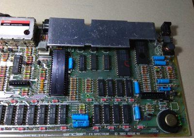 Vista de la placa original de la versión issue 4A del ZX Spectrum.