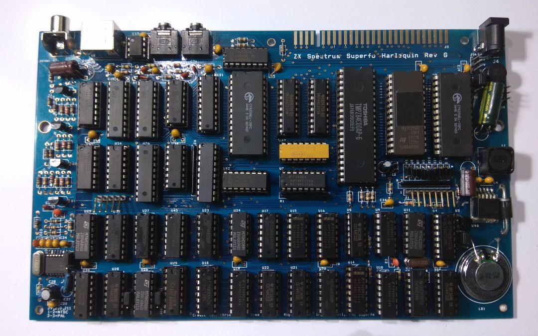 Disfrutalo, constrúyete tu propio y mejor  clon del ZX Spectrum.