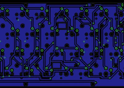 PCB inferior Teclado