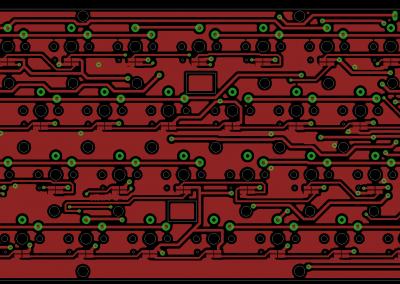 PCB superior Teclado